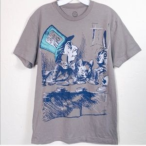 Out of Print Alice in Wonderland Tee